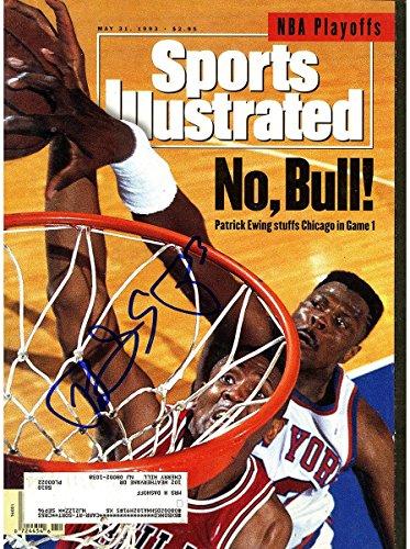 Patrick Ewing Signed 5/31/93 Sports Illustrated Magazine