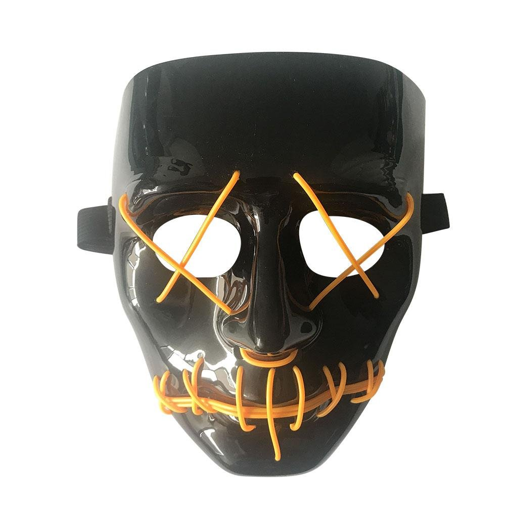 Amazon.com: Ruier-hui Halloween Mask LED Light up Purge Mask for Festival Cosplay Halloween Costume: Baby