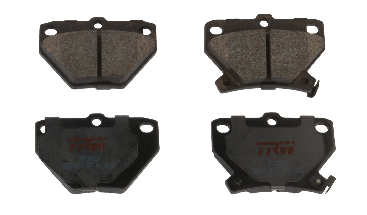 TRW TPC1099 Premium Ceramic Rear Disc Brake Pad Set
