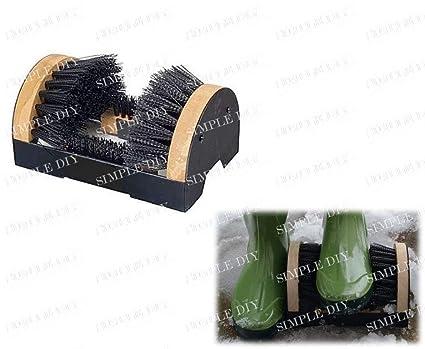 1aeded34d2 New Heavy Duty Shoe Boot Welly Wiper Brush Scraper Outdoor Door Step Mud  Cleaner  Amazon.co.uk  DIY   Tools