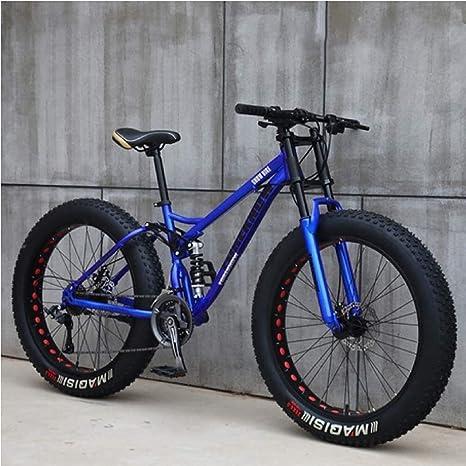 QZ For Hombre de 26 Pulgadas Fat Tire Bicicleta Todo Terreno ...