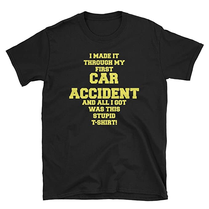 Amazon Com Car Accident Hospital Recovery Gag Gift Get Well Soon
