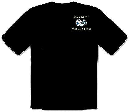 Hertha Bsc Berlin Bestickte Fussball Ultras Funs T Shirt
