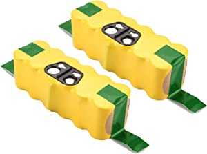 2 Pack 4.5Ah Ni-MH Battery Compatible with iRobot Roomba R3 500 600 700 800 900 Series Vacuum 530 550 560 620 630 650 780 790 800 870