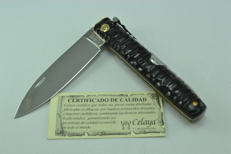 Amazon.com: Machete - Cuchillo artesanal con mango de búfalo ...