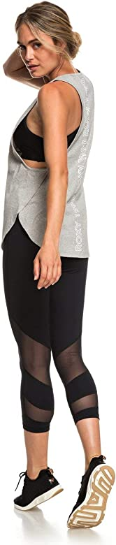Roxy Light My Way Yoga - Camiseta sin Mangas para Mujer ...