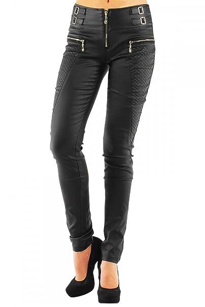 40d7dfbdda98 Danaest - Pantalón para mujer ajustado de cuero sintético, estilo tubo, nº  245