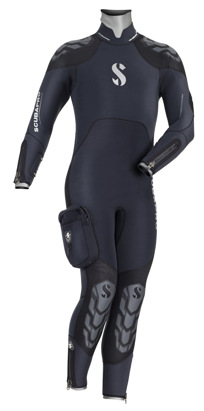 Scubapro Nova Scotia Men's 7.5mm Semi-Drysuit, Large Short by Scubapro