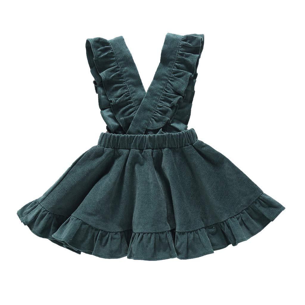 OPAKY Ni/ñas Ropa CasualNi/ñas beb/é Ruffle Princesa Vestidos Ropa Bebe Recien Nacido Ceremonia Vestido Bebe Ni/ña Bautizo Vestido de Honda Vestidos Ni/ña Tutu Princesa Vestidos