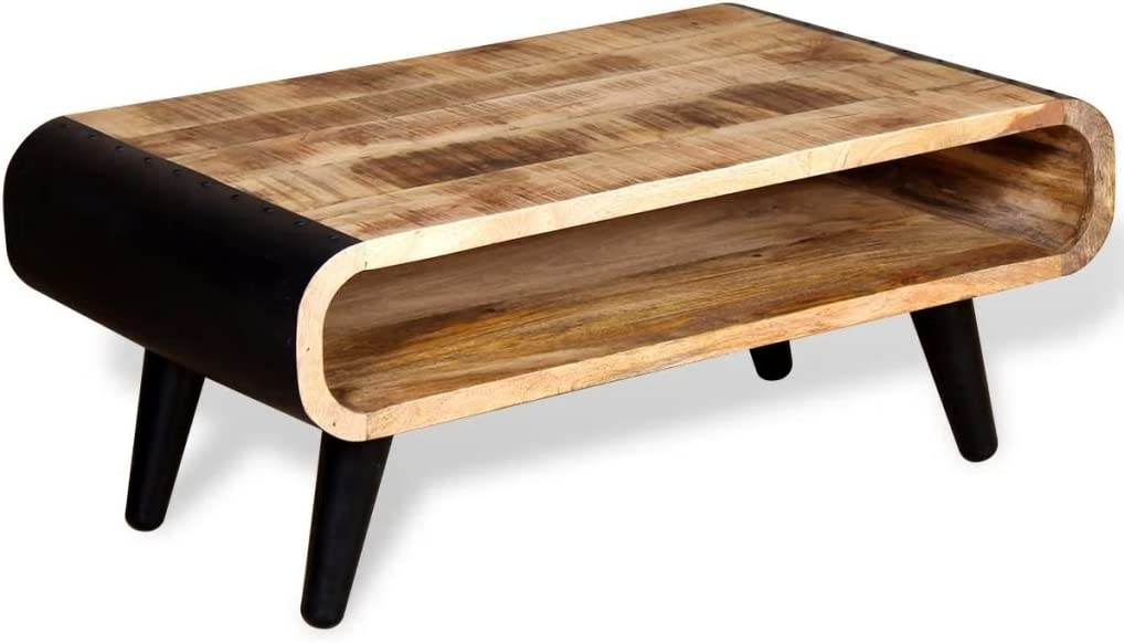 Ferro Legno Blu MDF Homemania Tavolino da caff/è