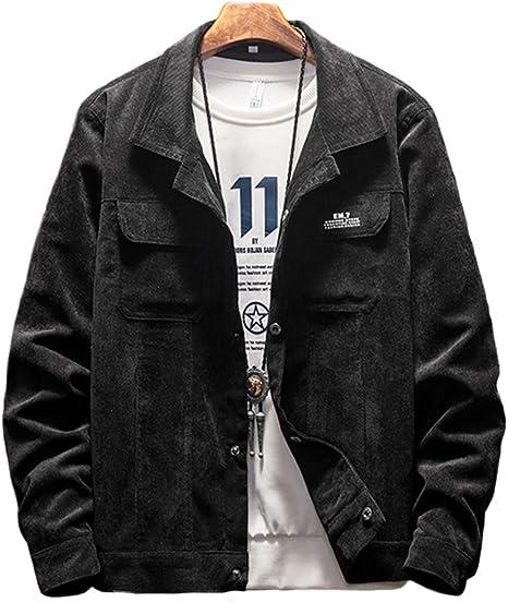 [クーパーアンドコー] 3カラー S~XL コーディロイジャケット ワンポイント ロゴ シンプル 大人 羽織 アウター