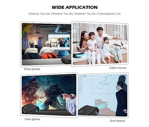 Amazon.com: WTTHCC Projector Full HD 3200 Lumen 1080P LED ...