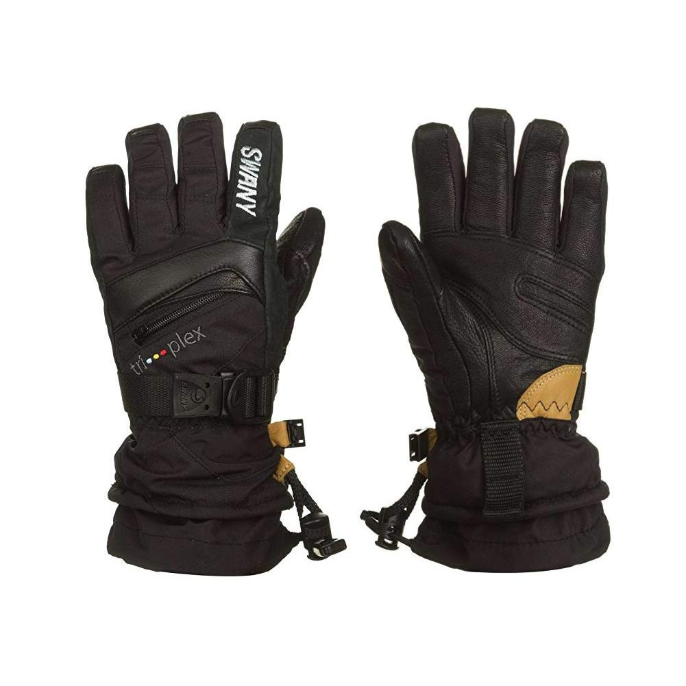 Swany X-Change Junior Gloves, Black, Medium by Swany (Image #3)
