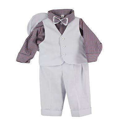 Boutique-Magique Costume bébé mariage baptême tenue complète