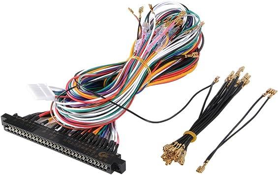 XCSOURCE® cableado de cableado estándar DIY 28pin Cable ...