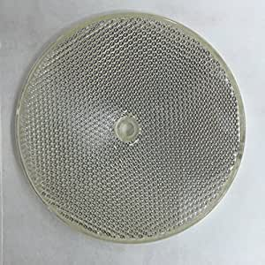 quality 4 round reflector silver mirror flat plastic surface mount for. Black Bedroom Furniture Sets. Home Design Ideas