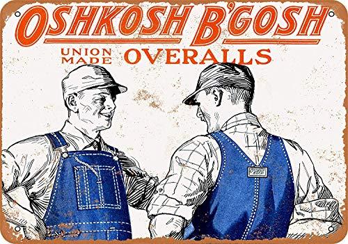 Buy oshkosh b gosh metal sign