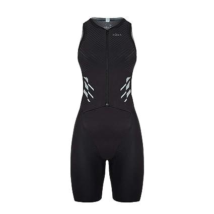 bb6274d96ea ROKA Women s Gen II Elite Aero Sleeveless Triathlon Sport Suit - Black -  Small