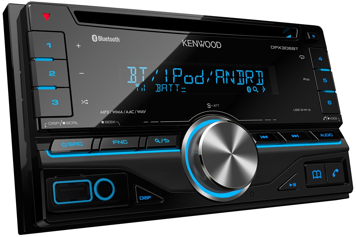 Kenwood Dpx 306bt Double Din Car Stereo With Built In Bluetooth Diagram Moreover Jeep Grand Cherokee Radio Wiring On Security Handsfree Electronics