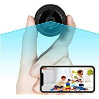 Wi-Fi Mini Spy Camera Wireless Hidden Camera with Audio and Video, Nanny Camera with 1080P Full HD, Motion Detection…