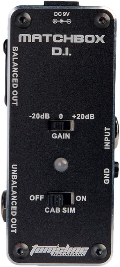 perfk CAB-SIM - Pedal de efectos para guitarra (metal, carcasa de ...