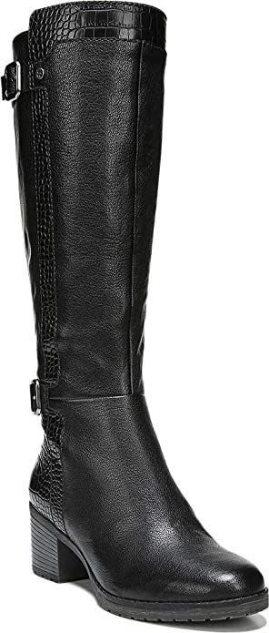 70a25a43ad6 Naturalizer Women s Rozene Tall Wide Calf Boot  Amazon.ca  Shoes ...