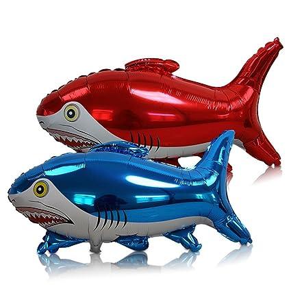 6 x HC de Comercio 915668 hinchable Tiburón protectores Tiburón ...