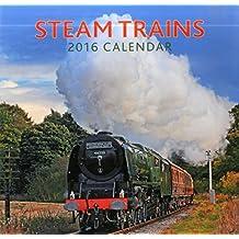 2016 Calendar: Steam Trains
