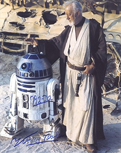 KENNY BAKER as R2-D2 - Star Wars GENUINE AUTOGRAPH