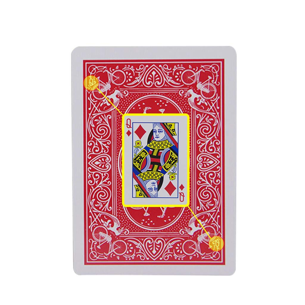 Itlovely New Secret Marked Stripper Deck Playing Cards Poker Cards Magic Toys Magic Trick by Itlovely (Image #4)