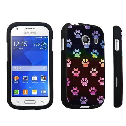 Amazon.com: durocase® Samsung Galaxy Ace Style S765 C Hard ...