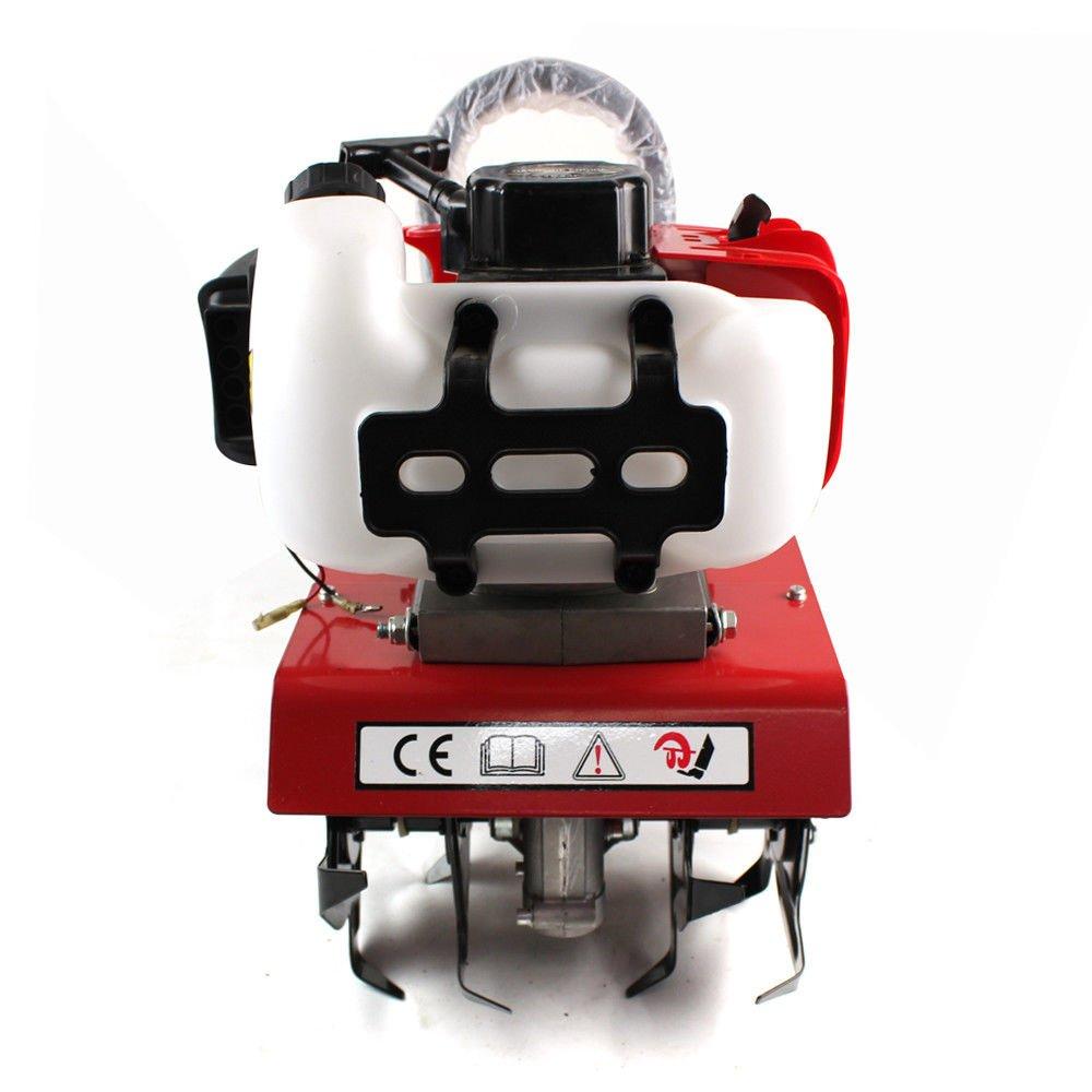 OUBAYLEW Motoazada Gasolina 52CC, Ancho de Trabajo: 25-30cm ...