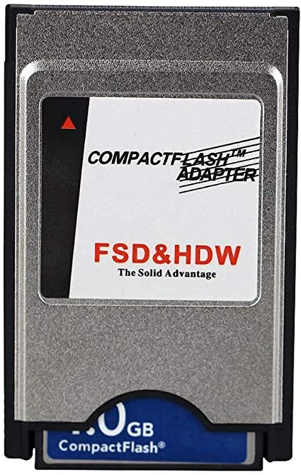 Amazon.com: PCMCIA Compact Flash PC CF Card Reader Adapter ...