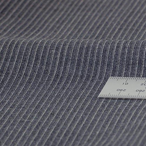 春夏 メンズ 2ツボタン アジャスター付 ツーパンツ スーツ 洗濯機で洗える スラックス グレー・ストライプ AB体5号