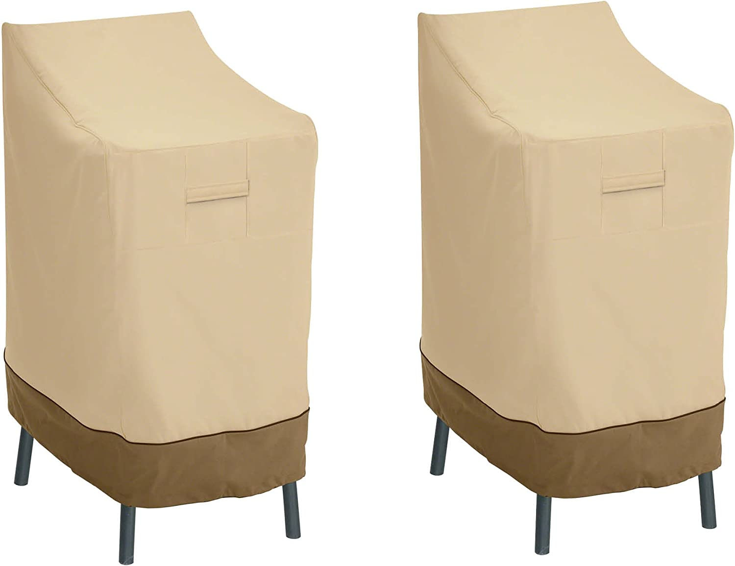 Classic Accessories Veranda Patio Bar Chair/Stool Cover (2-Pack)