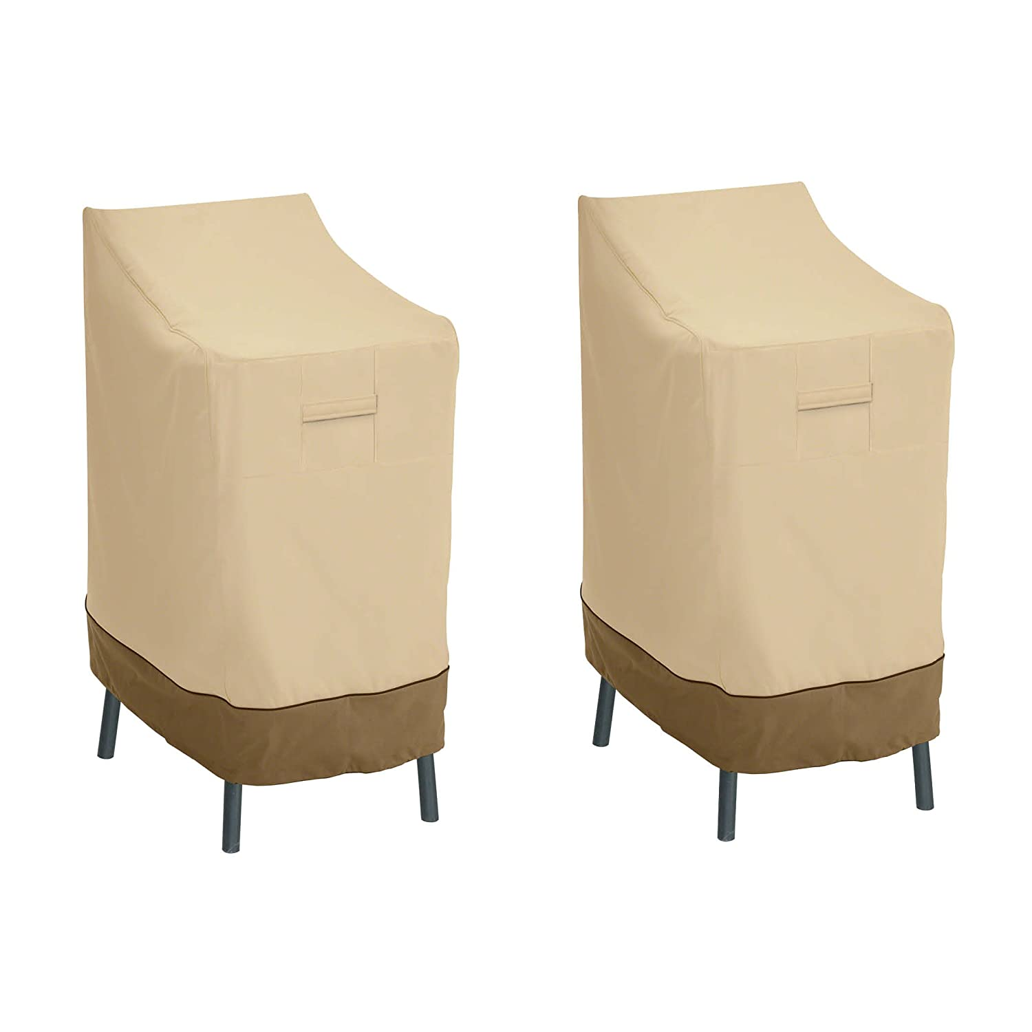 4-Pack Classic Accessories 55-412-011501-4PK Veranda Deep Seated Patio Lounge Chair Cover