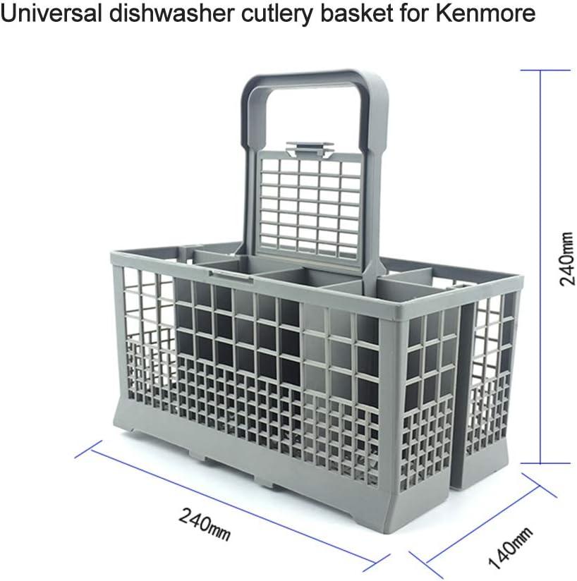 Decdeal Universal Dishwasher Cutlery Basket Storage Box for Kenmore Bosch Maytag KitchenAid Maytag