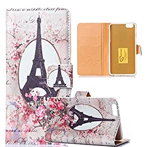 "Cover for iPhone 6,Case for iPhone 6 Air,Leather Case for iPhone 6 (4.7),Wallet Cover of iPhone 6 4.7""Ezydigital Carryberry Flip Cover case for iPhone 6"