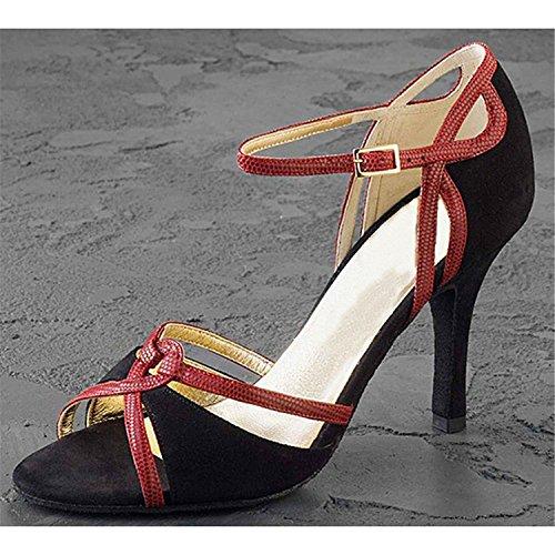 Dance Dance 5CM 37 Chaussures Latine Black Danse Cadeaux Femmes 8 Tango LEIT YFF Danse 4nwSxHC6q