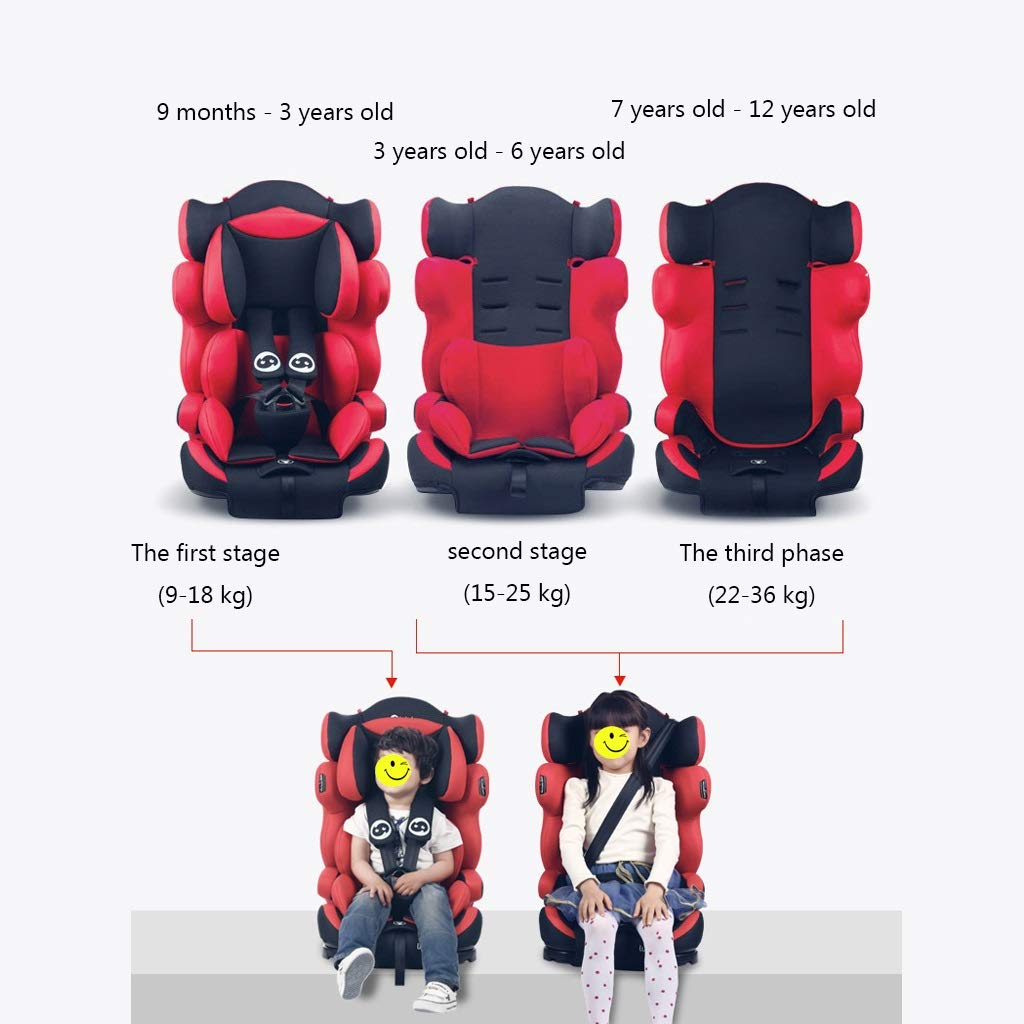 Amazon Com Gy Child Safety Car Seats Folding Convertible Car Seat