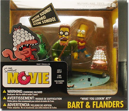 Mcfarlane Toys The Simpsons Movie Bart And Ned Flanders What Are You Looking At Buy Online In Belize Mcfarlane Toys Products In Belize See Prices Reviews And Free