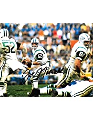 Joe Namath Autographed Signed New York Jets 8x10 Photo - Alabama - COA