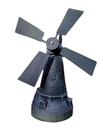 Garten Ornament Große Windmühle Grau Amazonde Garten