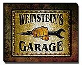 Weinstein's Garage Stretched Canvas Print