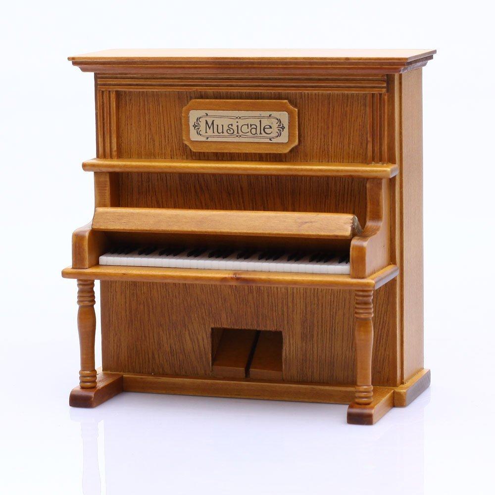 経典ブランド Antique Vintage Piano Wind up Wooden Music Wooden Box Vintage Play Music the Castle in the Sky B00A0BS57E, アジガサワマチ:f11b295e --- trainersnit-com.access.secure-ssl-servers.info