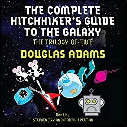 the complete hitchhiker 39 s guide to the galaxy douglas adams 0752423332663 books. Black Bedroom Furniture Sets. Home Design Ideas