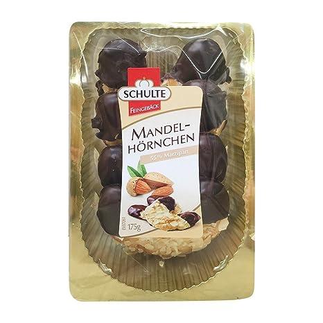 Schulte Mandel Hörnchen 175g: Amazon.de: Lebensmittel & Getränke