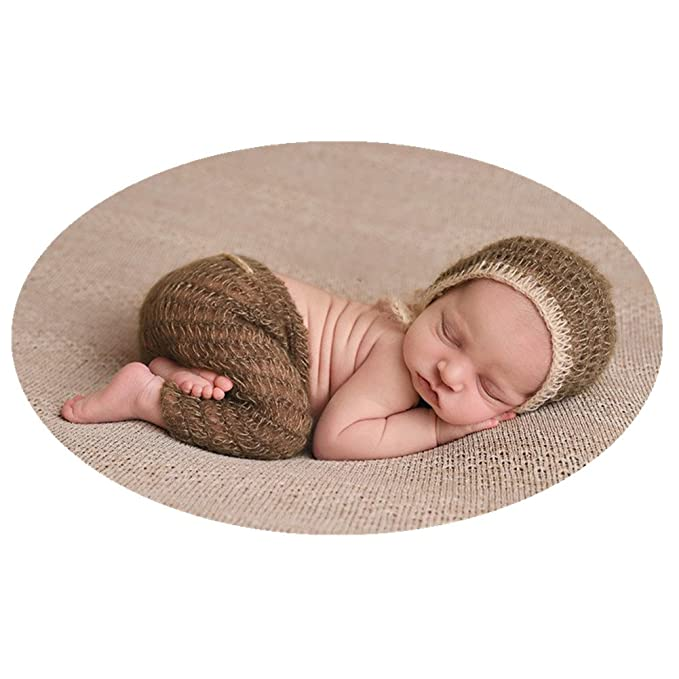 ddf53b1ea Amazon.com: Newborn Photos Prop Boy Girl Baby Photo Shoot Outfits ...