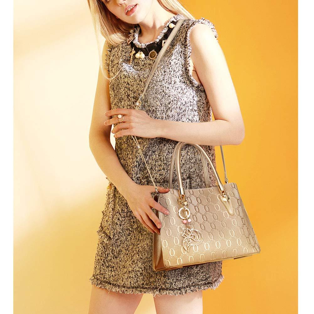 INTERESTPRINT Canvas Stylized Tree Shoulder Bags Satchel Messenger Tote Bag