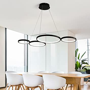 OOTEN Regulable Teledirigido Moderno Led Colgante Diseño De ...